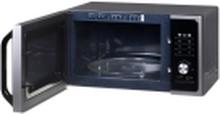 Samsung MS23F301TAS - Mikrobølgeovn - fritstående - 23 liter - 800 W
