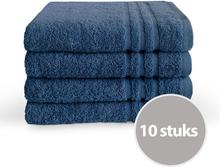 Byrklund handdoek 50 x 100 500 gram Blauw - 10 stuks