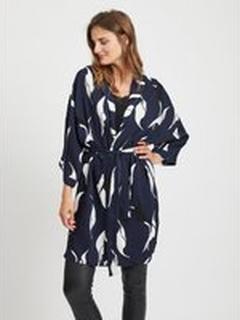 OBJECT COLLECTORS ITEM Mønstret Kimono Kvinder Blå