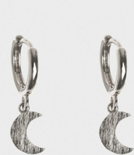 Timi of Sweden Moon Hoop Earrings