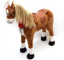 Elsa STOR XXL 105 cm Hest med kan ride på by Pink Papaya