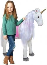 Enhjørning Lissy XXL 105 cm HØJ Hest by Pink Papaya