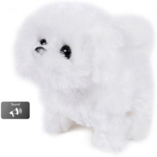 Hvid Hund Med LYD