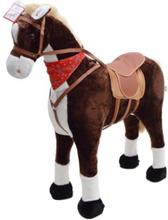 Max STOR XXL 105 cm Hest med kan ride på by Pink Papaya
