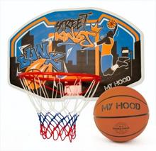 My Hood Basketkurv på plade med bold