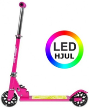 NILS 120 mm løbehjul med lys pink