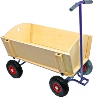 Trækvogn 4 personer luft hjul 99x 62 cm