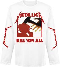 Metallica - Kill 'Em All -Langermet skjorte - hvit