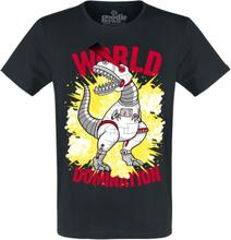 Goodie Two Sleeves - World Domination -T-skjorte - svart
