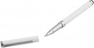 DELTACO penna för touchskärmar, kulspetspenna, vit