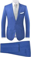 Vidaxl tvådelad kostym herrar strl. 54 kungsblå