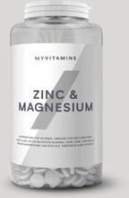 Zinc & Magnesium Capsules - 270Capsules