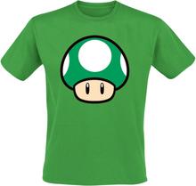Super Mario - Sopp -T-skjorte - grønn