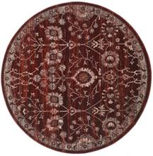 Zanjan - Dark_Wine matta Ø 200 Orientalisk, Rund Matta