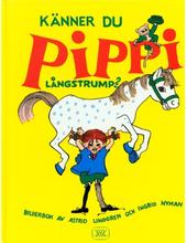 Rabén & Sjögren Känner du Pippi Långstrump, Bok