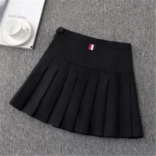 Piger tennis nederdel - høj talje nederdel uniform med indre shorts, underbukser badminton cheerleader 2 i 1 nederdel sports nederdel