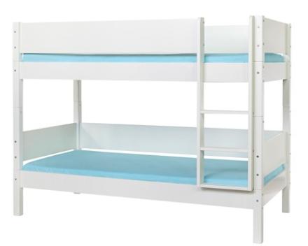 Manis-h Hoder våningssäng vit - 90x160