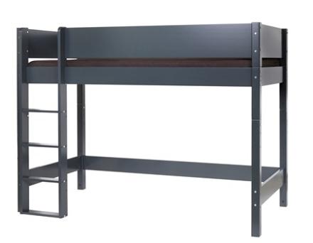 Manis-h Ask loftsäng mörkgrå - 90x200