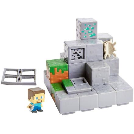 Minecraft miljø Mini sæt minedrift Mountain - Fruugo