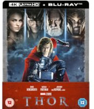 Thor - 4K Ultra HD (Includes 2D Blu-ray) Zavvi Exclusive Steelbook
