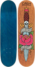 Cash Skateboards Saturday Heroes Ltd 8.25 +grip Skeittilaudat LTD EDITION