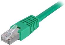 DELTACO DELTACO U/UTP Cat6 patchkabel 1 m, grön 7340004613732 Replace: N/ADELTACO DELTACO U/UTP Cat6 patchkabel 1 m, grön