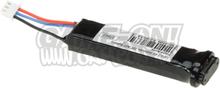 7.4V Li-Po Batteri til Elektriske Pistoler - 560mAh