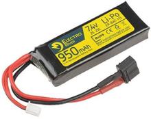 Batteri - Li-Po 7.4V 950mAh 25/50C - Deans