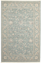 Ziegler Boston - Ljusblå matta 200x300 Orientalisk Matta