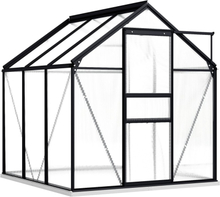 Drivhus med fundament 190x190cm 3,61 m²