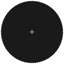 vidaXL Matta till 4,57 m rund studsmatta svart