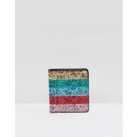 ASOS DESIGN - Väska med paljetter - Flerfärgad