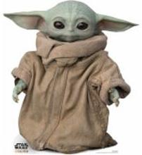 The Mandalorian - The Child Baby Yoda Mini Cardboard Cut Out