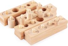 Wooden Montessori Educational Toy Cylinder Block Montessori Materials Sensorial Montessori Baby Toys Brinquesdos Juguest UC1366H