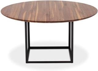 Dk3 Jewel table Walnut, Black - 160x160