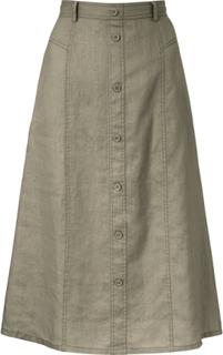 Kjol i A-linjemodell från Peter Hahn grön