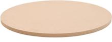 vidaXL bordplade rund MDF 600 x 18 mm