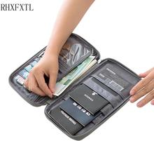 RHXFXTL Brand Passport Covers Holder Card Package Credit Card Holder Wallet Organizer Travel accessories Document bag cardholder