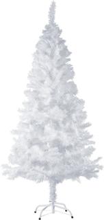 Kunstigt juletræ - 180 cm, 533 grene Hvidt
