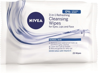 Nivea Refreshing Cleansing Wipes 25 st