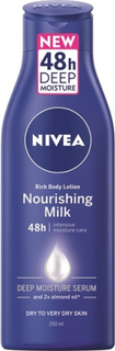 Nivea Rich Body Lotion Nourishing Milk 48h 250 ml