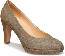 Pumps Shoes Heels Pumps Classic Guld Gabor