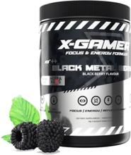 X-Tubz - Black Metal Berry 600g - 60 porsjoner