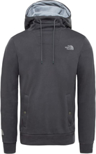 The North Face Men's Tkw Drew Peak Hoodie Herr Tröja Grå S