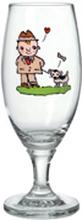 Människans käraste vän - Ölglas