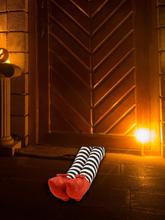 1 STÜCK Wicked Halloween Böse Hexe Beine Plüschtiere Dekoration Urlaub Und Party Requisiten Liefert