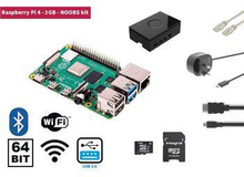 Raspberry Pi 4 2 GB Starter Kit + NOOBS Software Tool