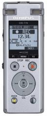 Olympus DM-770 incl NiMh battery, Sonority Audio Notebook Version, Case, Strap, USB Cable