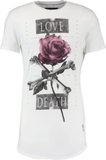 Religion LOVE DEATH Tshirt med tryck winter white
