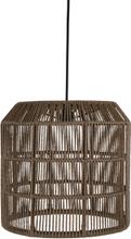 Pamir lampskärm brun 38x53 cm